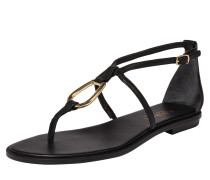 Sandale 'Nanine' schwarz