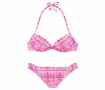 Push-up Bikini pink