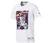 T-Shirt 'Red Bull Racing' mischfarben / weiß