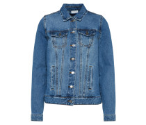 Jacke 'vijules Denim Jacket' blau