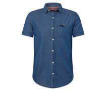Hemd 'Miami Loom' blue denim