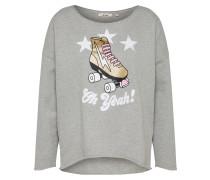 Sweatshirt 'Roller Disco' grau