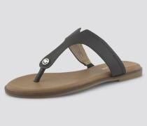 Shoes Zehentrenner aus Lederimitat