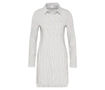 Long-Bluse 'Bano' schwarz / weiß