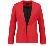 Blazer im puristischen Stil rot