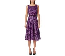 Kleid aubergine