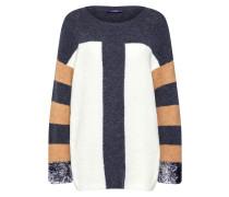 Pullover '22070' beige / schwarz / weiß