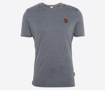 T-Shirt rauchblau