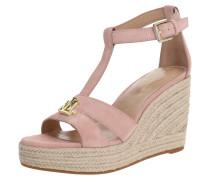 Sandale 'hale' rosa / beige