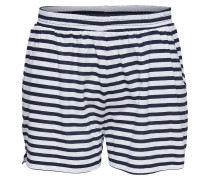 Shorts nachtblau / weiß