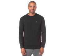 Sweatshirt 'Single Stone Crew' schwarz