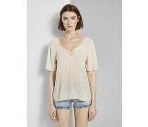 Blusen & Shirts Bluse aus Viskose-Crêpe in A-Shape