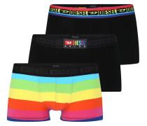 Boxershorts mischfarben / schwarz