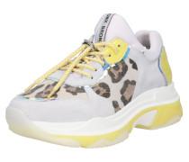 Sneaker 'Baisley' gelb / weiß