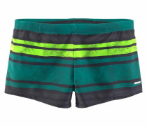 Boxer-Badehose grau / grün