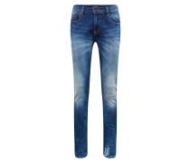 Jeans 'Skim - Greetings From Blauw Repair'