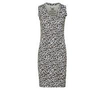 Kleid 'Fitted rib allover sleevekess'