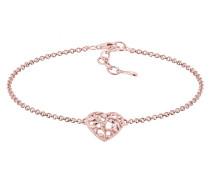 Armband 'Herz Lebensbaum' rosegold