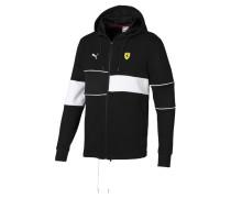 Sweatjacke gelb / schwarz / weiß