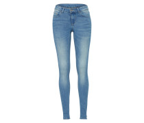 Slim Fit Jeans 'commit' blue denim
