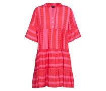 Kleid 'Boho' pink / rot