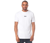 T-Shirt 'Minimentum' weiß