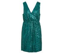 Kleid grünmeliert