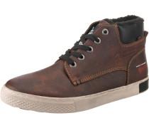 Sneakers braun / schwarz