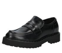Halbschuhe 'Loafer' schwarz