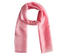 Schal pink / weiß