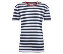 Shirt 'sg-039Cc2K007' navy / weiß