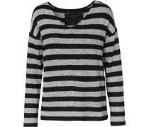 Pullover grau / schwarz
