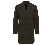 Mantel dunkelbraun