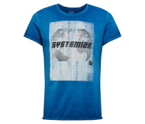 Shirt blau