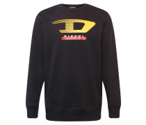 Sweatshirt 's-Gir-Y4 Sweat-Shirt' schwarz