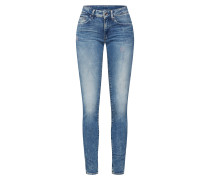Jeans 'Midge Zip' blue denim
