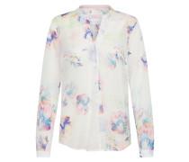 Bluse blau / rosa / weiß