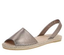 Sandale 'Menorque Metallique'