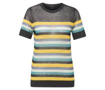 Pullover gelb / anthrazit / petrol / weiß