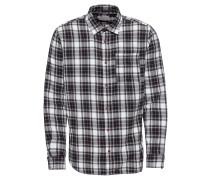 Hemd dunkelgrau / schwarz / weiß