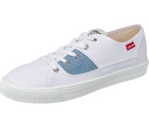 Malibu Patch Sneakers Low blue denim / weiß