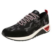Sneaker 's-Kby' anthrazit / schwarz