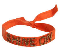 Armbändchen 'Message' orange