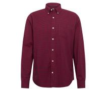 Hemd 'oxford Shirts' blau / rot