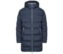 Mantel Gefütterter dunkelblau