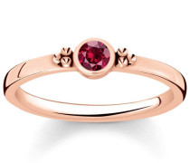 Fingerring 'Royalty Roter Stein Tr2154-540-10'