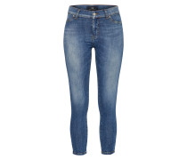 'Lonia' Super Skinny Mid Rise Jeans blue denim