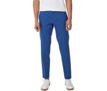 Slim: Stretch-Anzughose blau