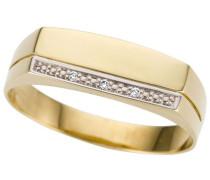 Goldring gold / silber
