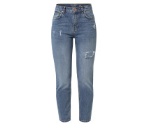 'nmliv NW Ankle Straight Dest Jeans Ba608' Jeans